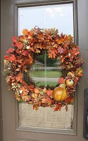 Wreath For Front Door 13 Nature Inspired Autumn Wreaths For Your Front Door