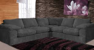 Camden Fabric Corner Sofa Collection  Black Cheap Sofa Set - Cornor sofas