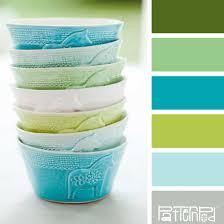 Combination Color Blue Green Color Schemes