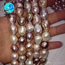wholesale pearls necklace images Multi strand pearl necklace costume freshwater cultured irregular jpg