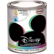 disney all that glitters interior specialty paint 1 quart