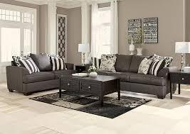 Modern Furniture Washington Il by Nick U0027s Furniture Sugar Grove Il Levon Charcoal Sofa U0026 Loveseat