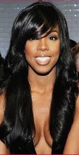 long hair styles with swoop bangs black hair 18 best essential hairstyles images on pinterest hair dos long