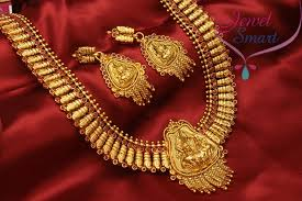 fashion long gold necklace images Temple jewellery gold plated antique long necklace in gold designs jpg