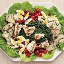 cuisine nicoise grilled halibut salad nicoise recipe eatingwell