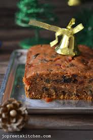 christmas fruit cake plum cake no alcohol version christmas