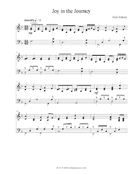 thanksgiving piano sheet music joy in the journey by rick graham piano solo