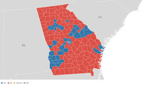 Map Georgia Usa by Georgia Election Results 2016 Live Maps Polling Analysis