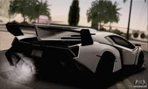 Lamborghini Veneno Limo - lamborghini veneno lp750 4 white black 2014 for gta san andreas