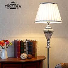 elegant fashion crystal lamp floor standing sofa corner bedroom