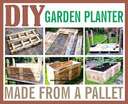 diy pallet garden planter made from a wooden pallet projects to
