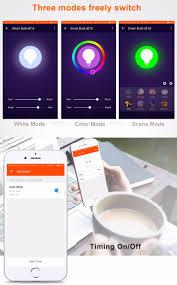 alexa controlled light bulbs xenon wifi rgbw 6w bulb works with amazon alexa automation led wifi