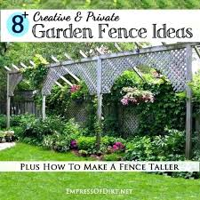 Small Garden Fence Ideas Garden Ideas Mirrored Trellis Small Balcony Outdoor Garden