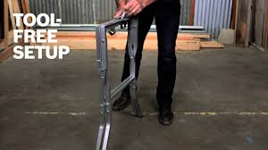 Folding Table Saw Stand Bosch Power Tools Gta500 Folding Table Saw Stand Product Video