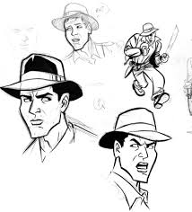 indiana jones sketches 3 by cretineb on deviantart indiana jones