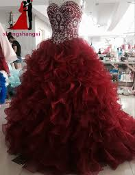 burgundy quince dresses burgundy quinceanera dresses 2017 sweetheart gown party