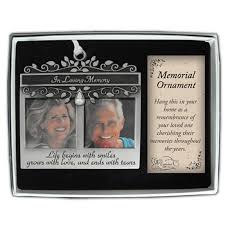 photo memorial ornament