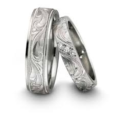 Matching Wedding Rings by I Think These Are The Loveliest Kind Of Wedding Ring My Parents