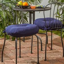 Outdoor Bistro Chair Cushions 18 Inch Outdoor Bistro Chair Cushion Set Of 4 Free