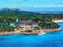 celine dion private island outrageous celebrity vacation homes greeningz