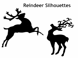 reindeer silhouette free download clip art free clip art on