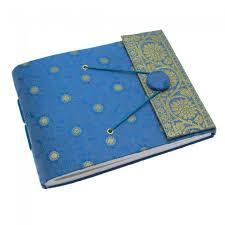 handmade small sari photo album paper high