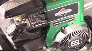 coleman powermate generator 5hp first look youtube