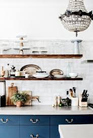 kitchen sheved how to style your kitchen shelves coco kelley