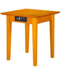 table l with usb charging port new savings on ah14117 shaker end table with usb charging port and