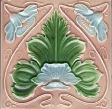 Art Deco Tile Designs Golem Kunst Und Baukeramik Gmbh Art Nouveau Tiles Decorated