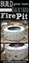 easy diy inexpensive firepit for backyard fun backyard