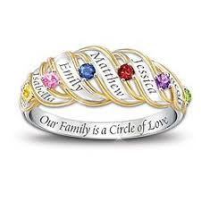 family birthstone rings express gratitude and with family birthstone rings oh my rings
