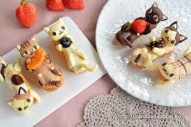 cute desserts these darling cat shaped desserts from japan are almost too cute