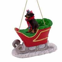 rottweiler ornaments by yuckles