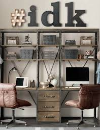 Rustic Office Decor Ideas Best 25 Industrial Office Design Ideas On Pinterest Industrial