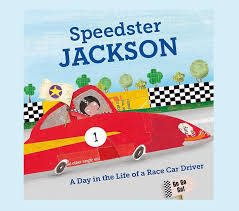 speedster personalized book pottery barn