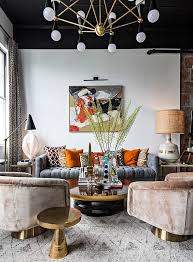 the home interior in the home of jonathan adler s director of interiors