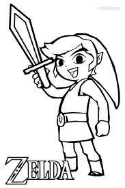zelda coloring page printable zelda coloring pages for kids
