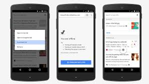 google makes it easier to read offline in chrome on android