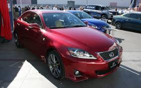 lexus sc400 red lexus is 350 is 350c is 250c sema 2011 motor trend