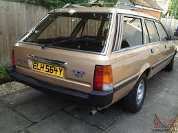 peugeot cars 1980 peugeot 505 7 seater estate wonderful condition