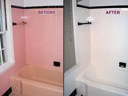 painting bathroom tiles picture pink tub u0026 tile before