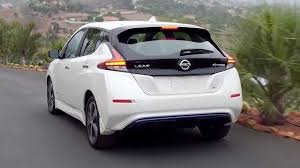 nissan leaf uk 2018 2018 nissan leaf driving interior u0026 exterior footage youtube