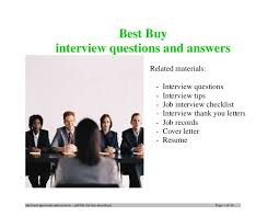Best Buy Resume Application by Best Buy Interview Questions And Answers