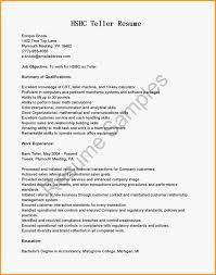 Job Description Of A Teller For Resume teller job resume cv cover letter