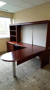 Hon Desk Hutch Desk Home Office Furniture L Shaped Desk With Hutch Used Office