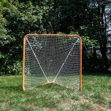 diy lacrosse goal lacrosse goal official size 6 feet x 6 feet franklin sports