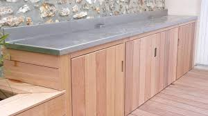 cuisine exterieure ikea meuble de cuisine exterieur meuble barbecue cedar et inox
