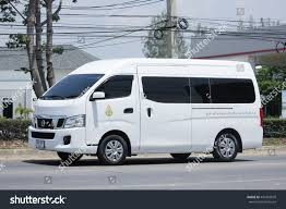 nissan van nv350 chiangmai thailand may 27 2016 stock photo 441943078