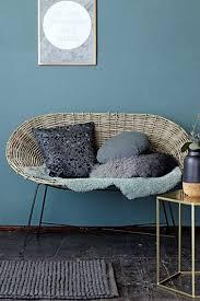 canape en rotin canape en rotin en deco interieur style contemporain